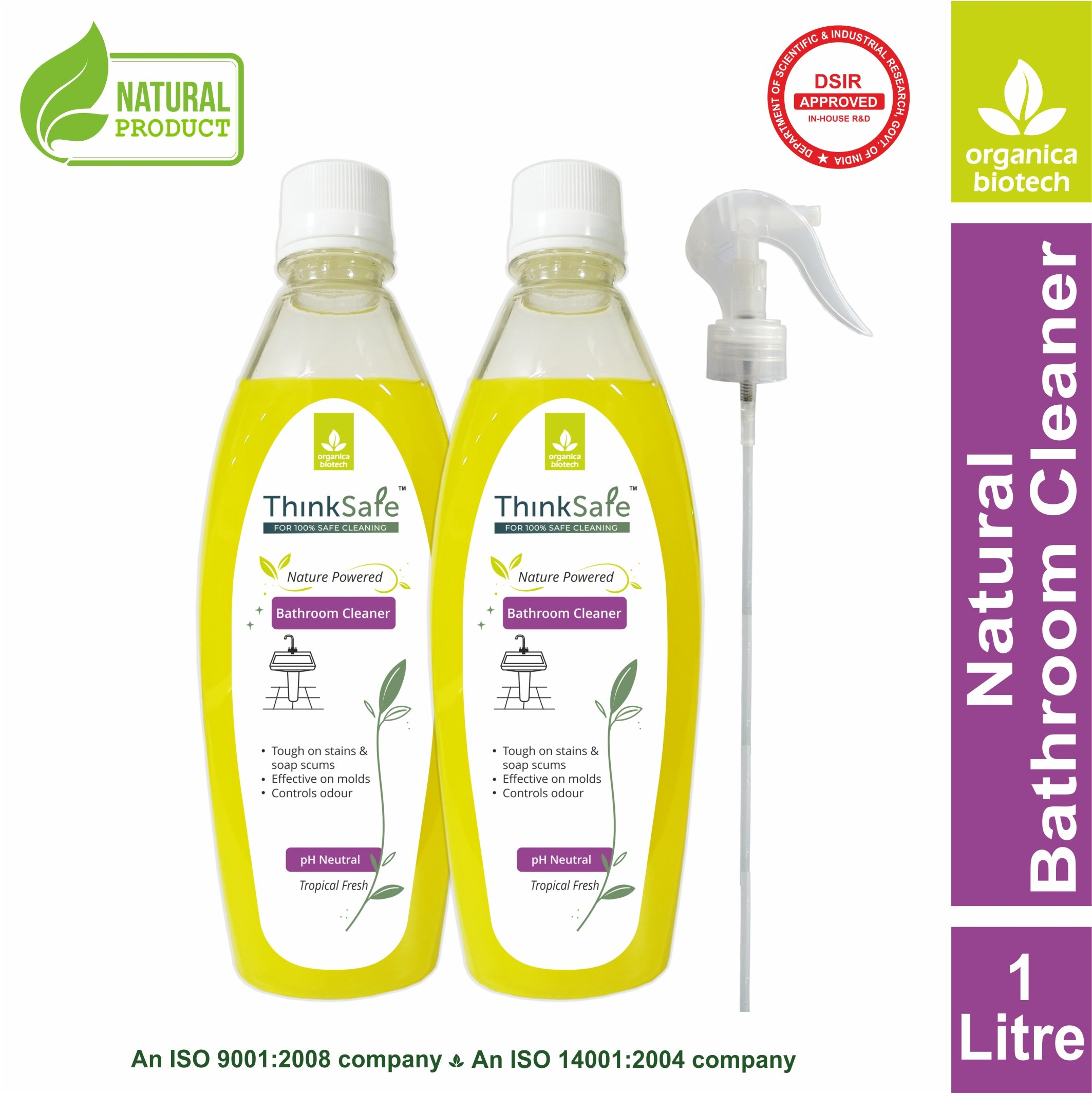 Think Safe Bathroom Cleaner 1